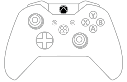Xbox Button Xbox One S