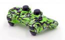 PS3 Lime Predator Custom Modded Controller Small