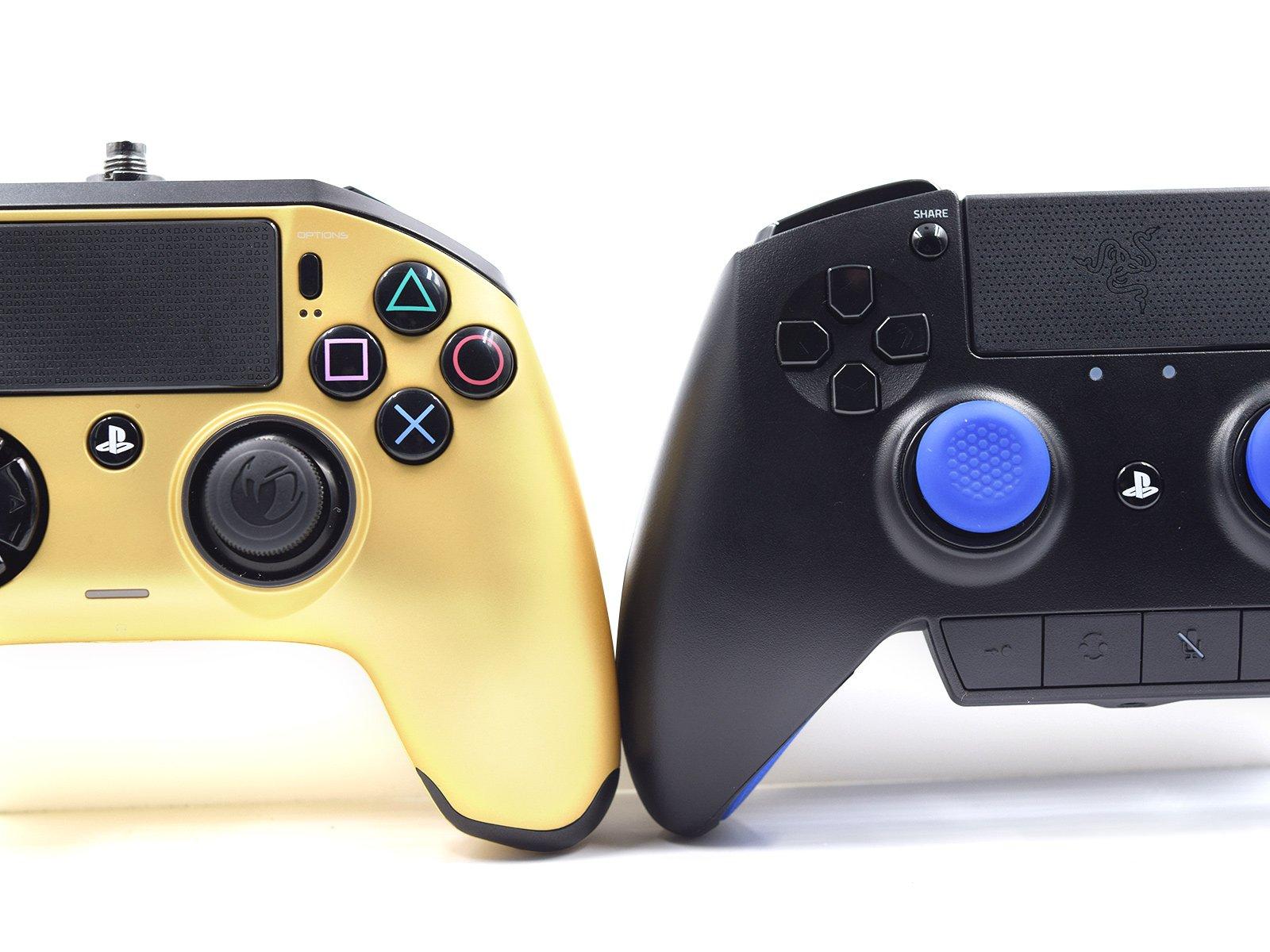 Razer Raiju VS Nacon Revolution Controllers Comparison