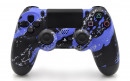 PS4 Purple Splatter Custom Modded Controller Small