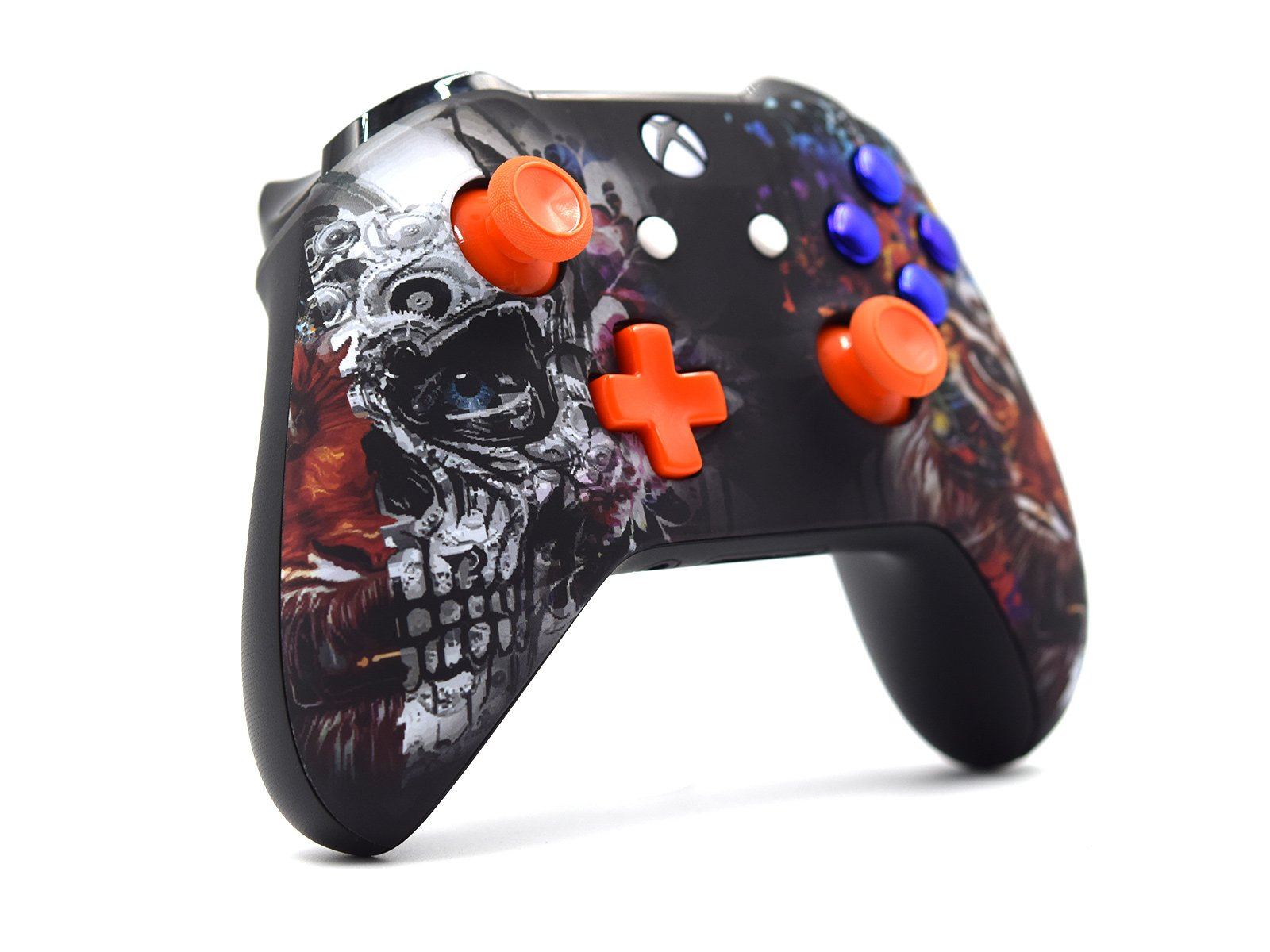 Custom Xbox One S Controller - Tiger Skull