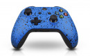 Xbox One S Rubberized Blue Custom Modded Controller Small