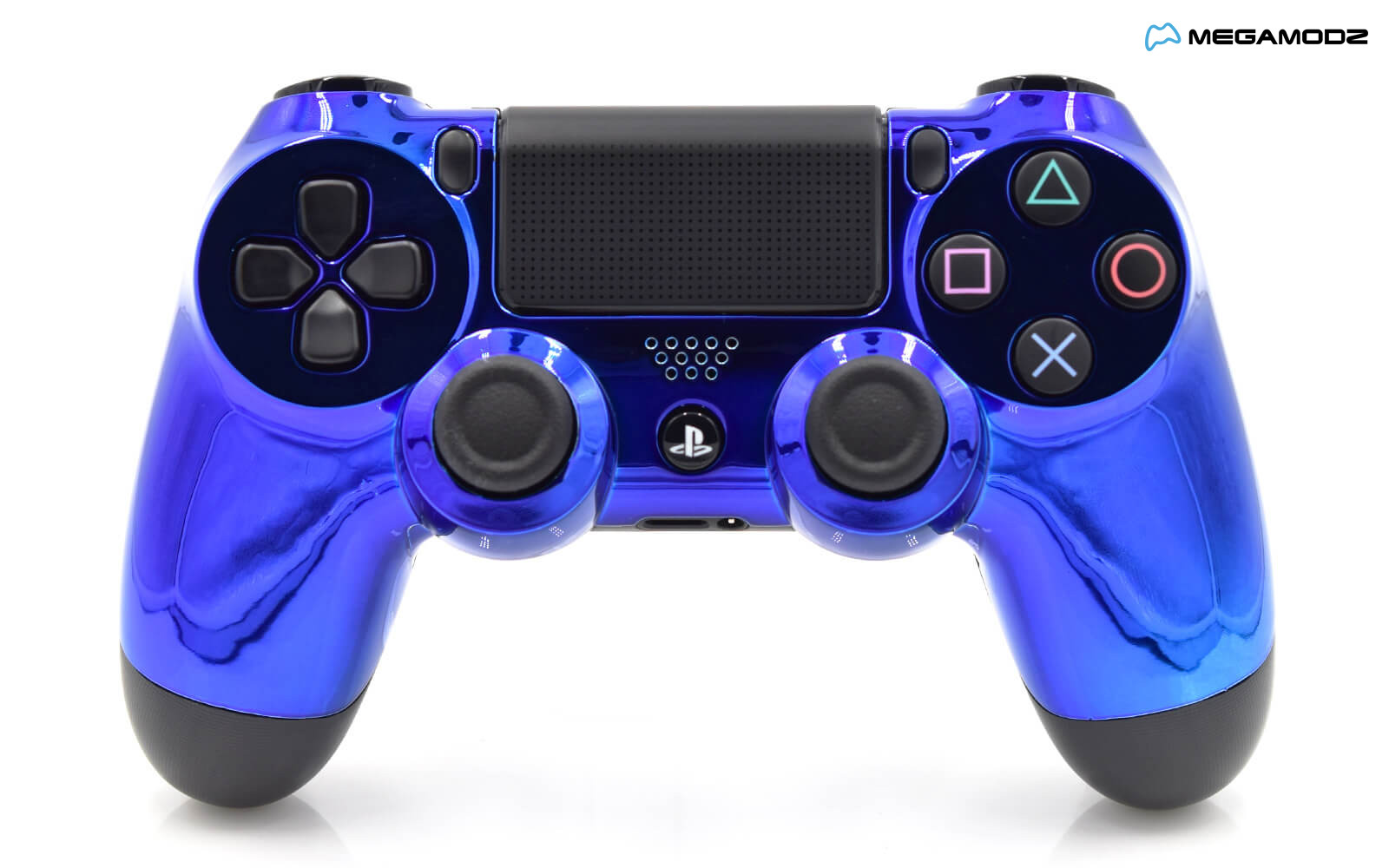 Modded PS4 Rapid Fire Controller - Chrome Blue ...