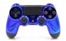 PS4 Chrome Blue Custom Modded Controller Small