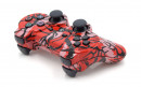 PS3 Red Predator Custom Modded Controller Small