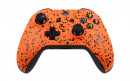 Xbox One S Rubberized Orange Custom Modded Controller Small
