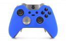 Custom Blue Xbox Elite Wireless Controller  — Three Quarters