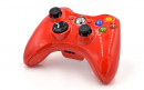 Xbox 360 Glossy Red Custom Modded Controller Small