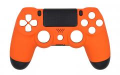 Solid Colors - Matte Orange - Controller For PS4
