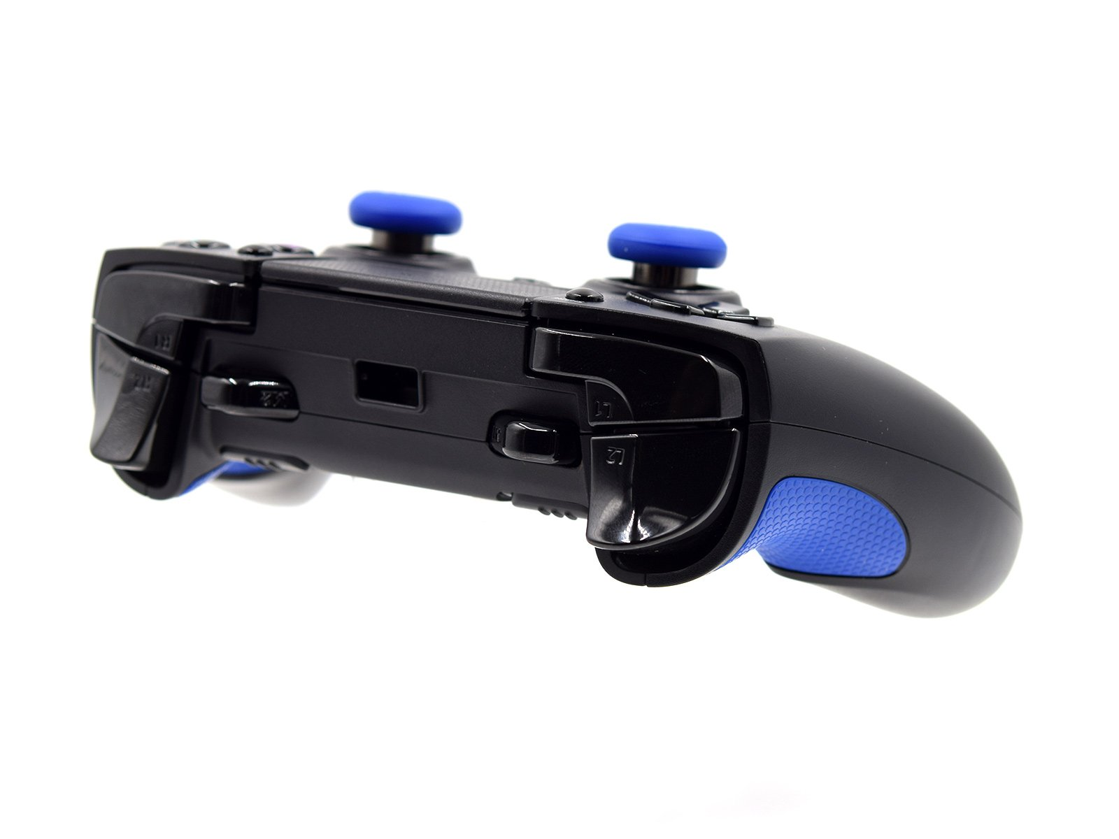 Razer Raiju PS4 Pro Controller - Triggers and Bumpers View Front Side Up