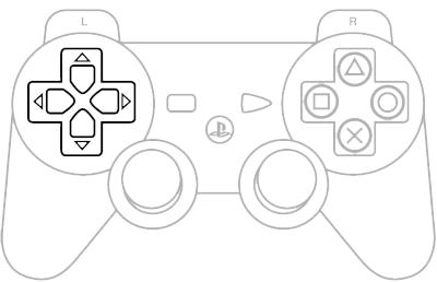 D-Pad PS3