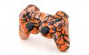 PS3 Orange Predator Custom Modded Controller Small