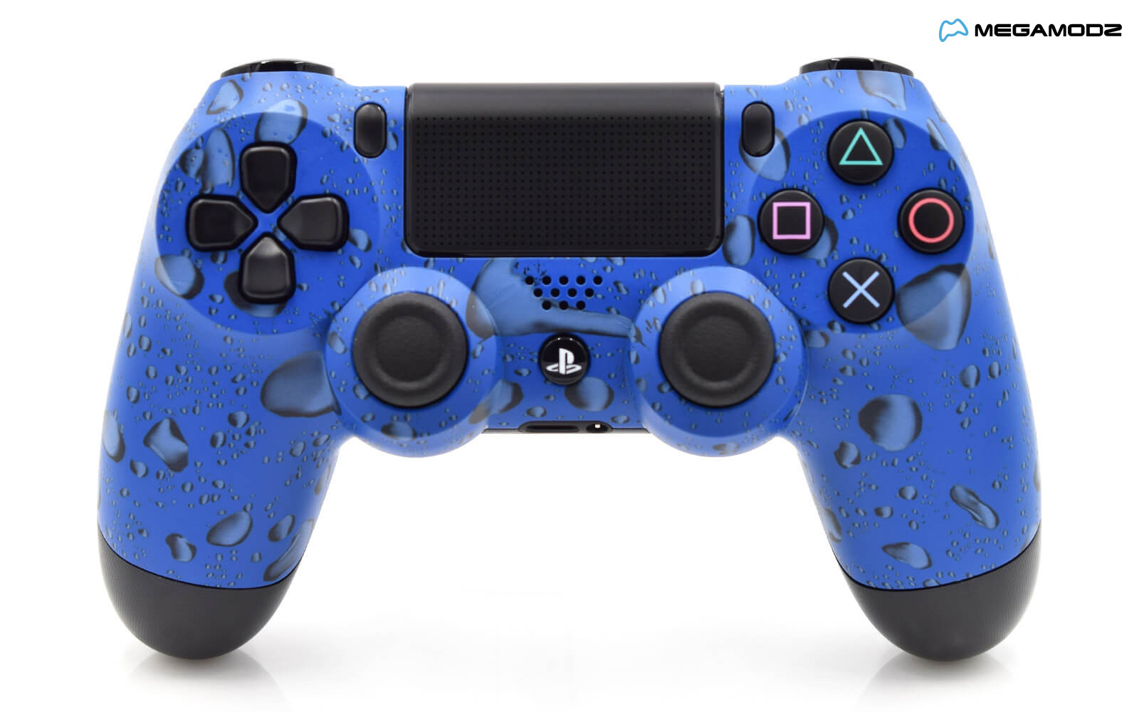 Modded PS4 Rapid Fire Controller - Blue Drops ...