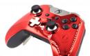 Custom Chrome Red Xbox Elite Wireless Controller  — Close Up