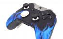 Custom Blue Flame Xbox Elite Wireless Controller  — Close Up