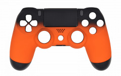 Custom Colors - Volcano Orange - Controller For PS4