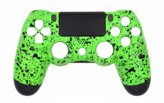 Custom - Rubberized Lime Green - Controller For PS4