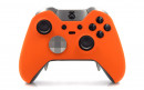 Custom Orange Xbox Elite Wireless Controller  — Front Profile