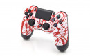 PS4 Pro Blood Splatter Custom Modded Controller Small