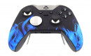 Custom Blue Flame Xbox Elite Wireless Controller  — Front Side Up