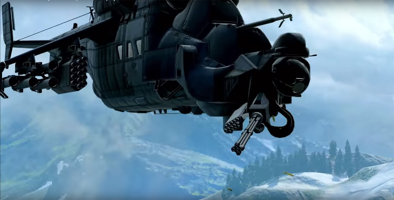 Black Ops 4 Multiplayer Helicopter