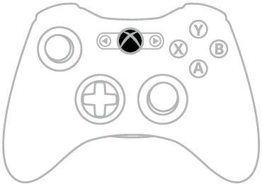 Guide Button Xbox 360