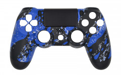 Hydro Dipped - Blue Splatter - Controller For PS4