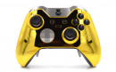 Custom Chrome Gold Xbox Elite Wireless Controller  — Front Profile