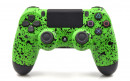 PS4 Pro Rubberized Lime Green Custom Modded Controller Small