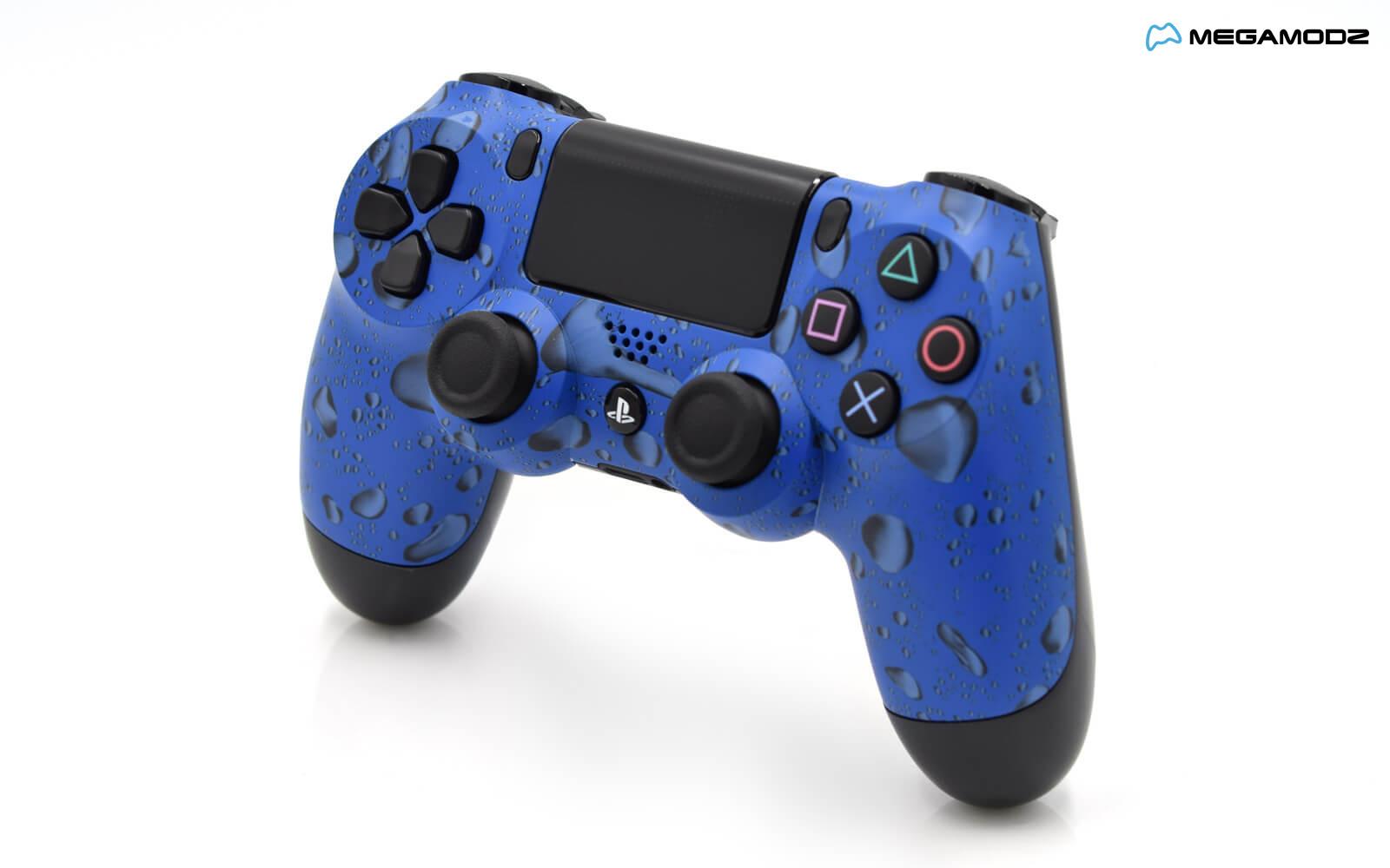 Blue Ps4 Controller
