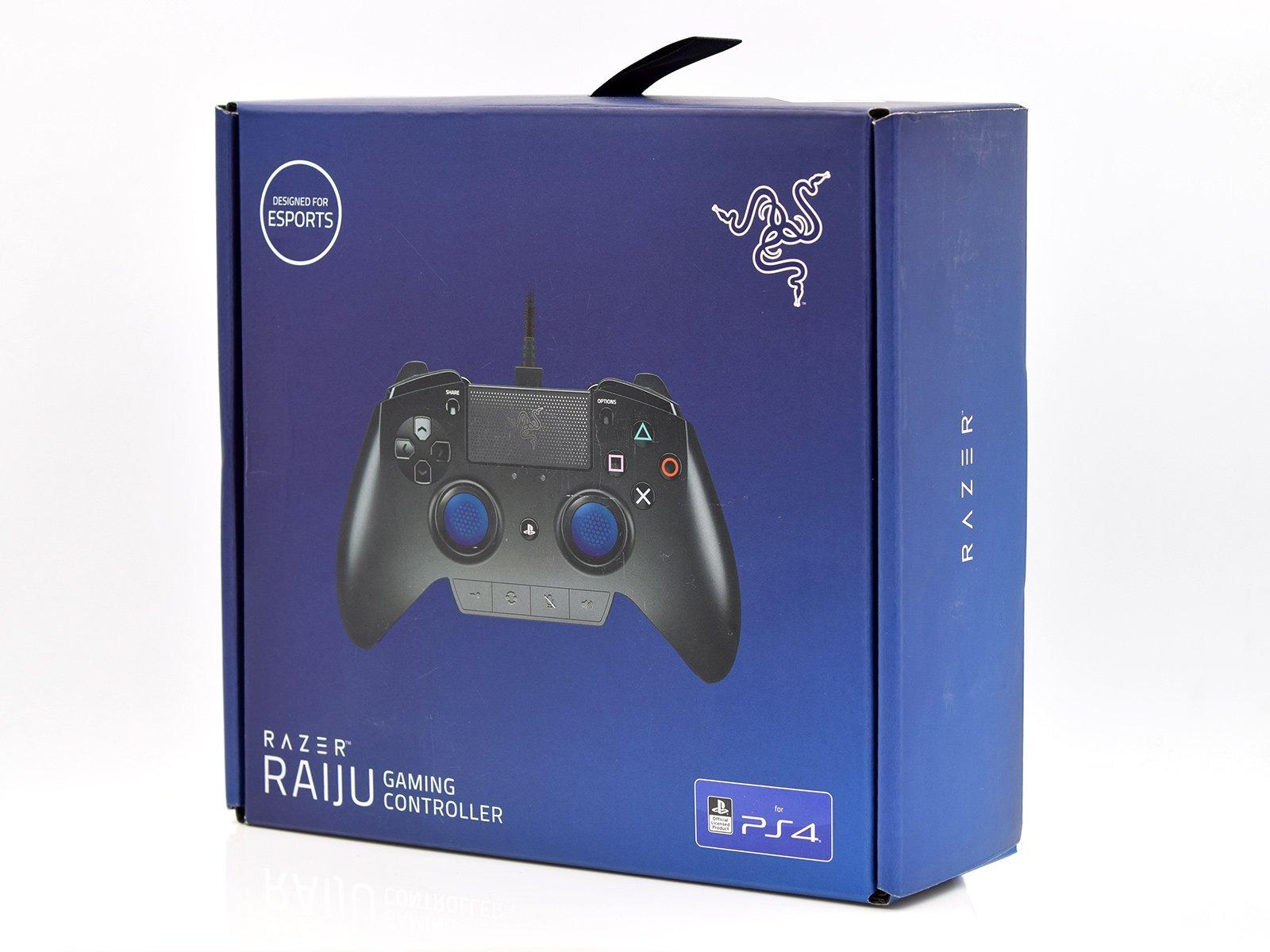 Razer Raiju Gaming Controller Box