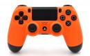 PS4 Pro Matte Orange Custom Modded Controller Small